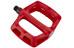 DMR V6 BMX pedaler rød